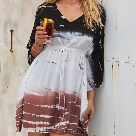 Swimsuits For All Other - SWIMSUITS FOR ALL KIERA TUNIC DRAWSTRING COVERUP